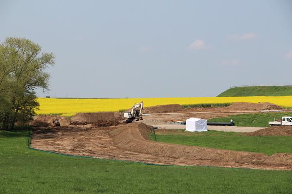 Construction site Mipropipeline